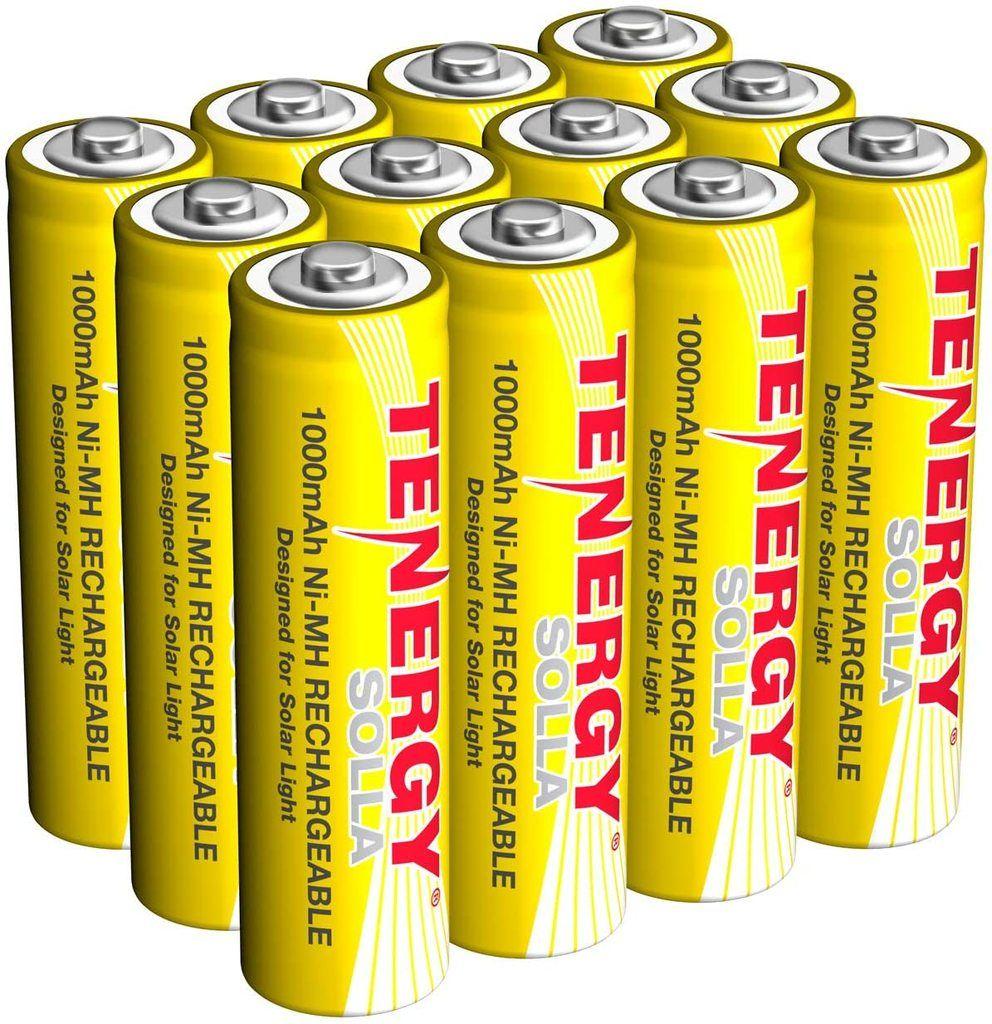 Rechargeable Nimh Aa Battery 1000mah Solar Batteries Solar Battery Solar Lights Nimh