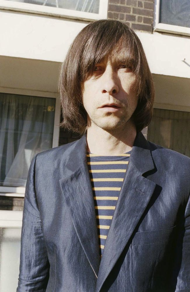 Bobby Gillespie of Primal Scream for Marc Jacobs SS12 ...