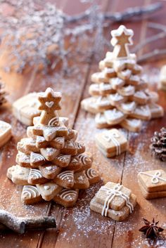Christmas cookie tree   La ricetta che Vale