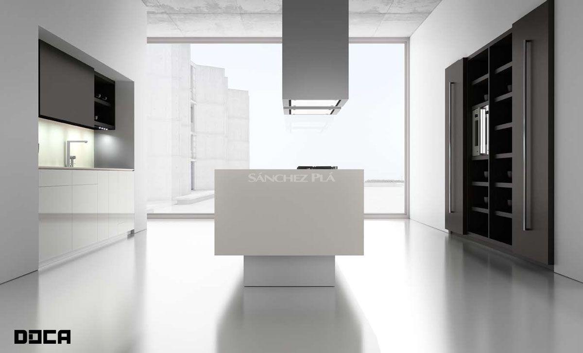 Muebles De Cocina Doca Puertas Ecopal Blanco C 54 Acr Licas  # Muebles Blanco Poblenou