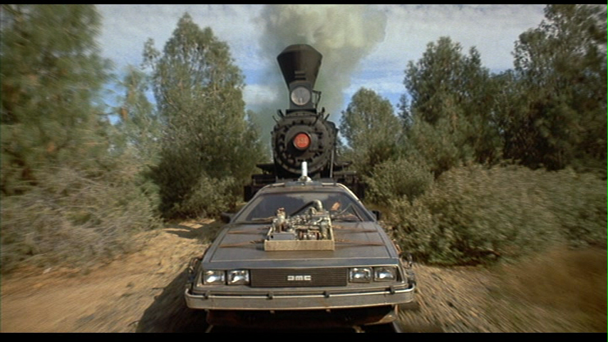 Back To The Future Iii Starring Michael J Fox Christopher Lloyd And Sierra Engine 3 The Movie Train