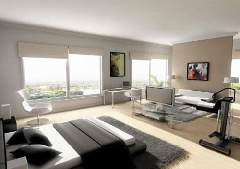 inspirational bachelor pads 1 Interior Design Ideas for Men