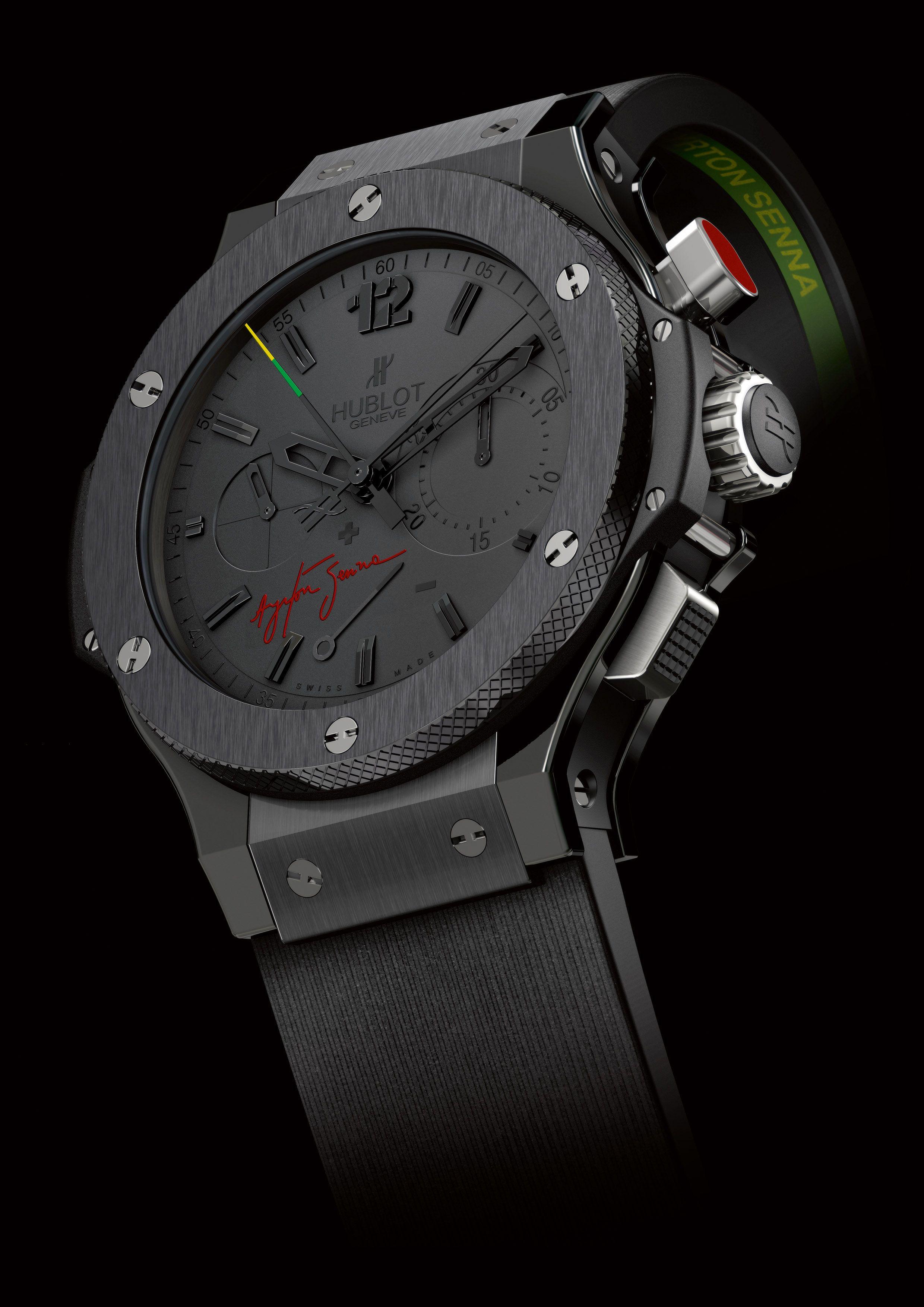 7677da45636 HUBLOT Ayrton Senna Relógios Hublot