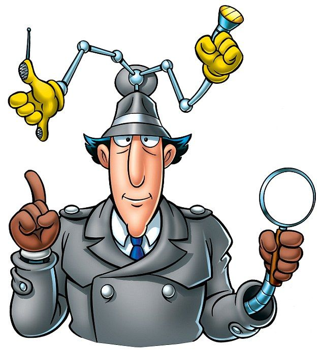 Steve McManaman resembles Inspector Gadget while working as a BT