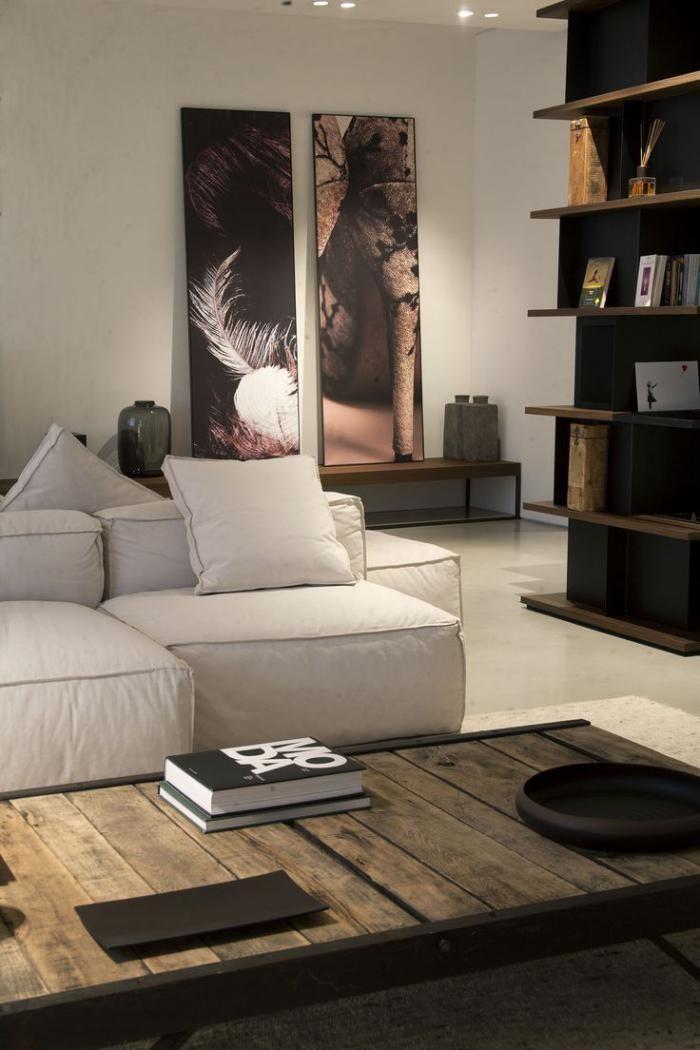 Décorez vos intérieurs avec une belle table rustique Wabi sabi