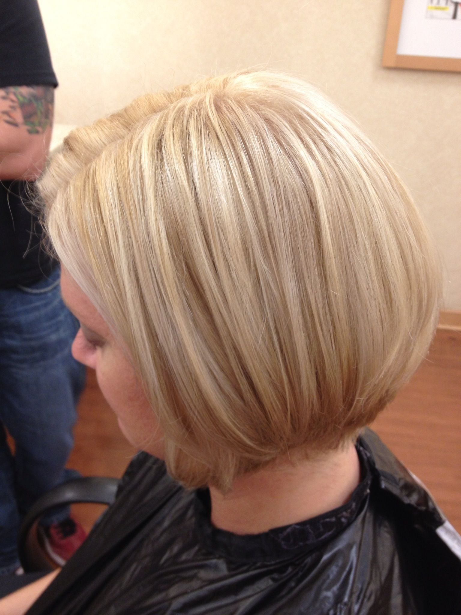 Blonde Highlights With Caramel Low Lights Color