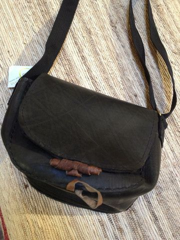 Recycled Tire Purse