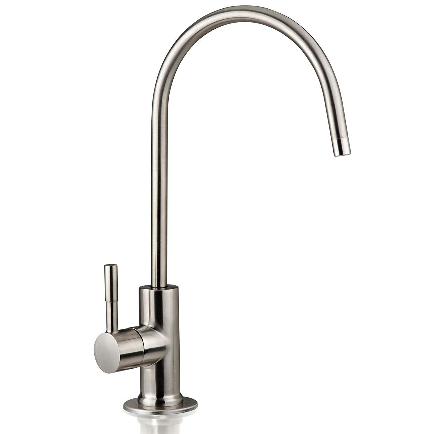 Ispring Ga1 Bn Heavy Duty Non Air Gap Drinking Faucet For Water With Images Water Faucet Faucet