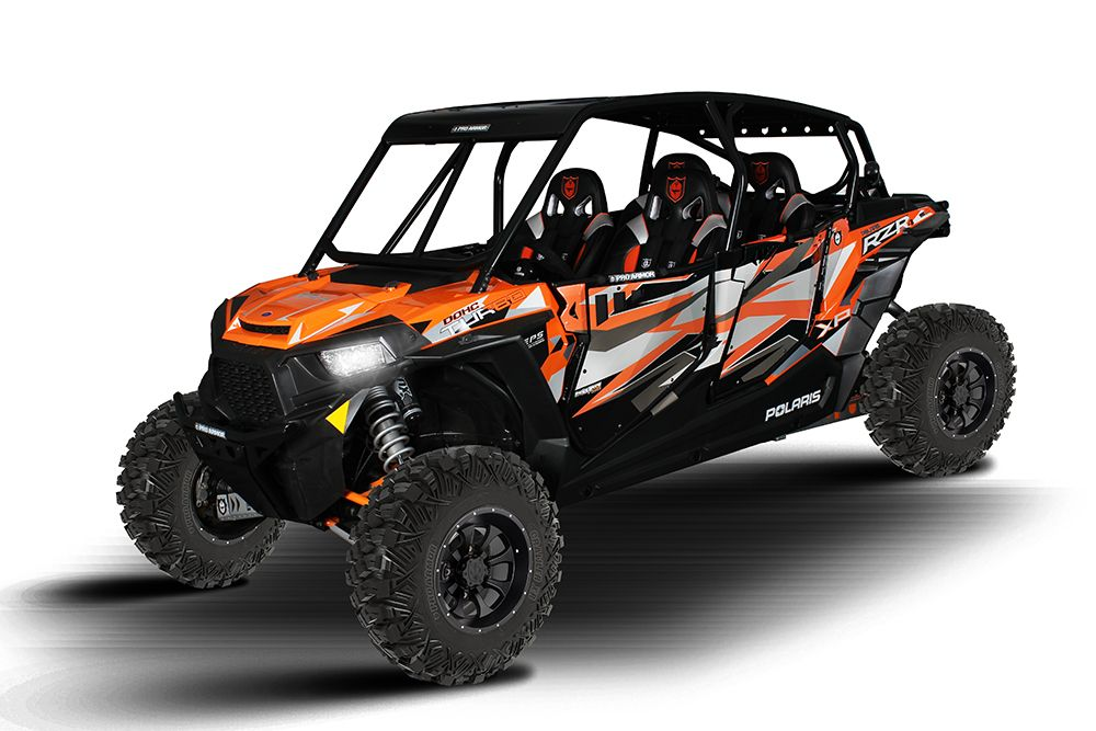 Pro Armor Polaris RZR XP4 1000 Asylum Roll Cage - Choose