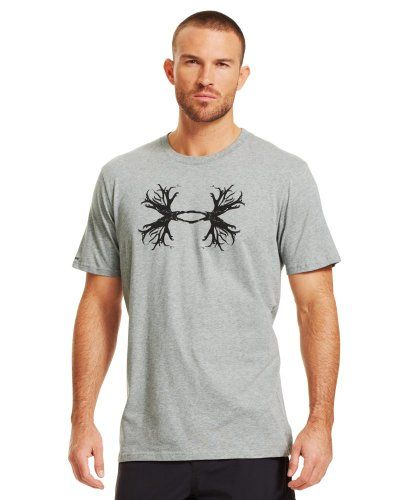 Under Armour Men's UA Hunt Antler Logo T-Shirt     #Antler, #Armour, #Hunt, #Logo, #Mens, #Tshirt, #Under