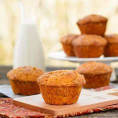 Sweet Potato Casserole Muffins for #SundaySupper