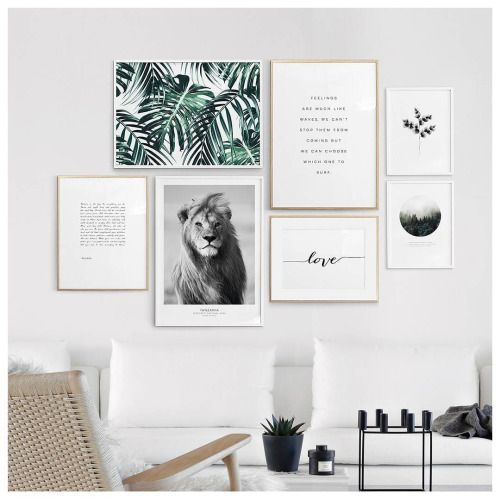 Photo of Wall Art of Things I Love in Gold Frames for Bedroom – Bedroom …