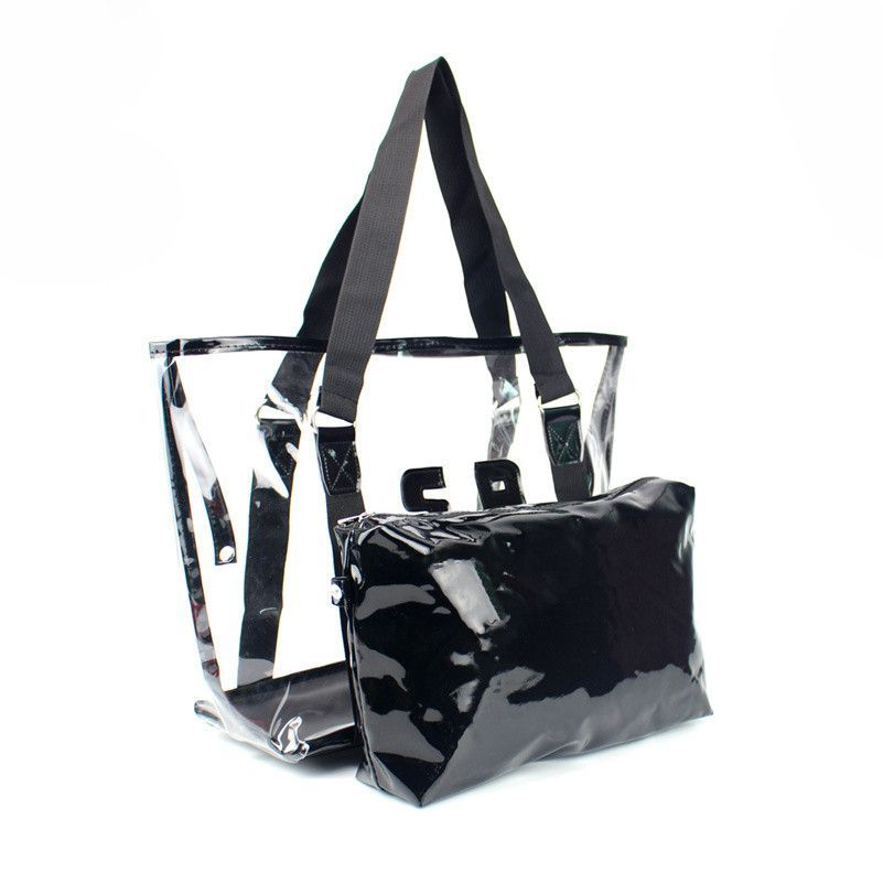29f3d3d127 2016 Summer Beach Jelly Candy Color Bag Shoulder Bags Women Tote Transparent  Pvc Waterproof Purse Handbag bolsas