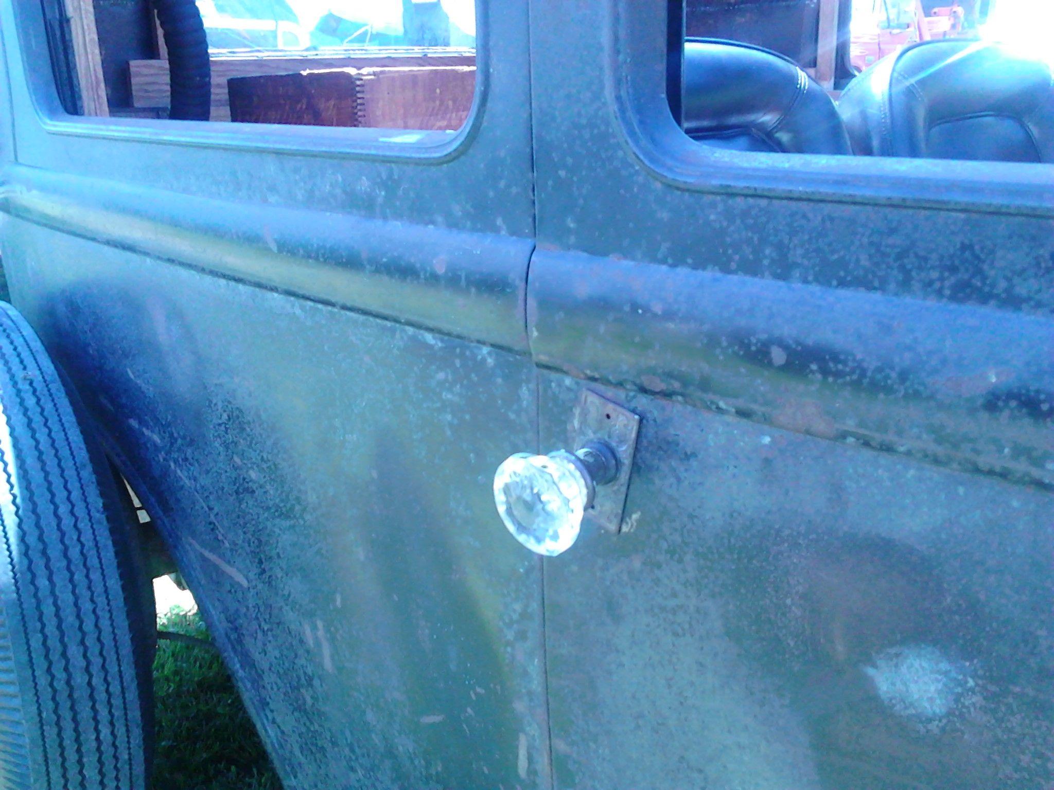 vintage car door handles. Rat Rod Door Knob. Vintage Car Handles