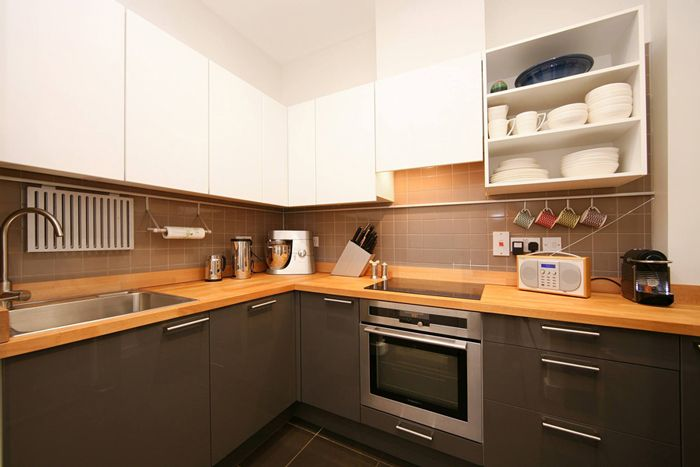 Prime Beech Wood Kitchen Worktop Surfaces Hob Sink