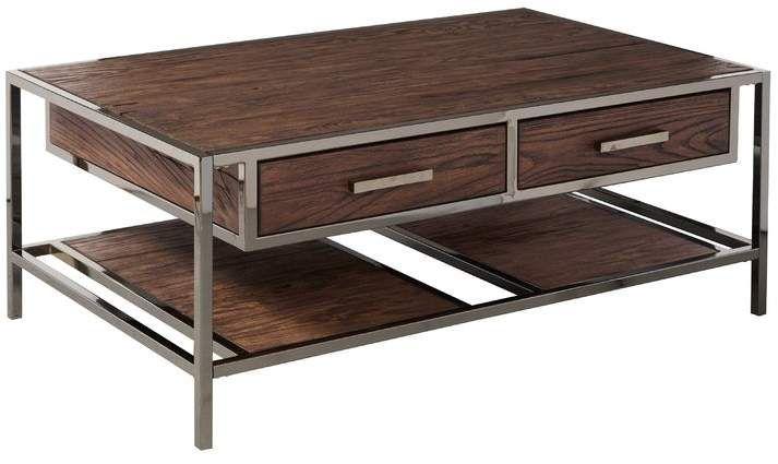 Brayden Studio Falkner Modern Industrial Style Coffee Table With Storage Coffee Table Coffee Table With Storage Industrial Style Coffee Table