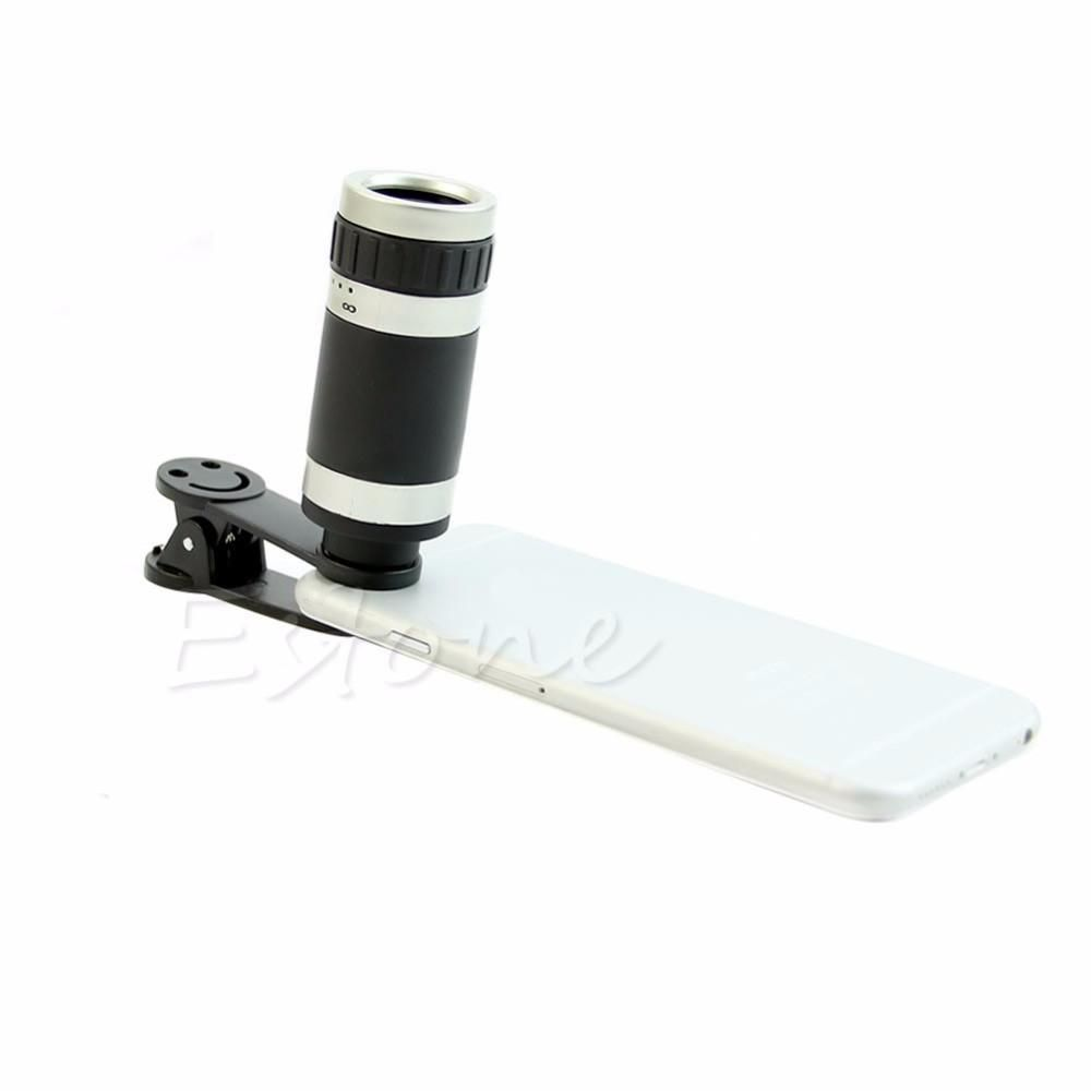 Free Shipping 8x Zoom Telephoto Optical Camera Lens
