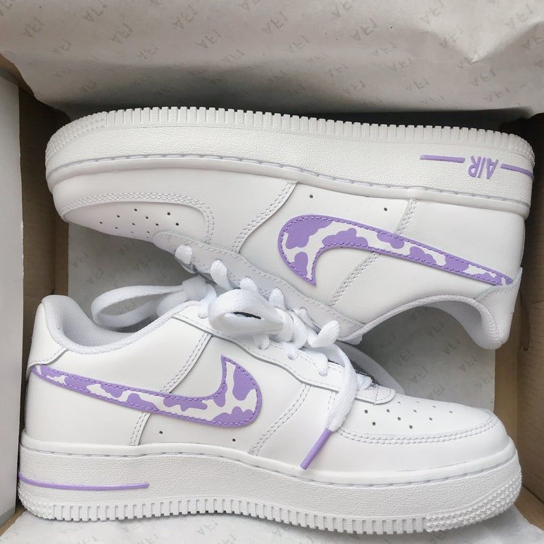 prima instalaciones marido  cow print pattern air force 1 [af1] | lilac pink mint black | hand painted  nike custom personalised white shoe pastel trainers women's | Nike shoes  air force, Nike air shoes, Custom nike shoes