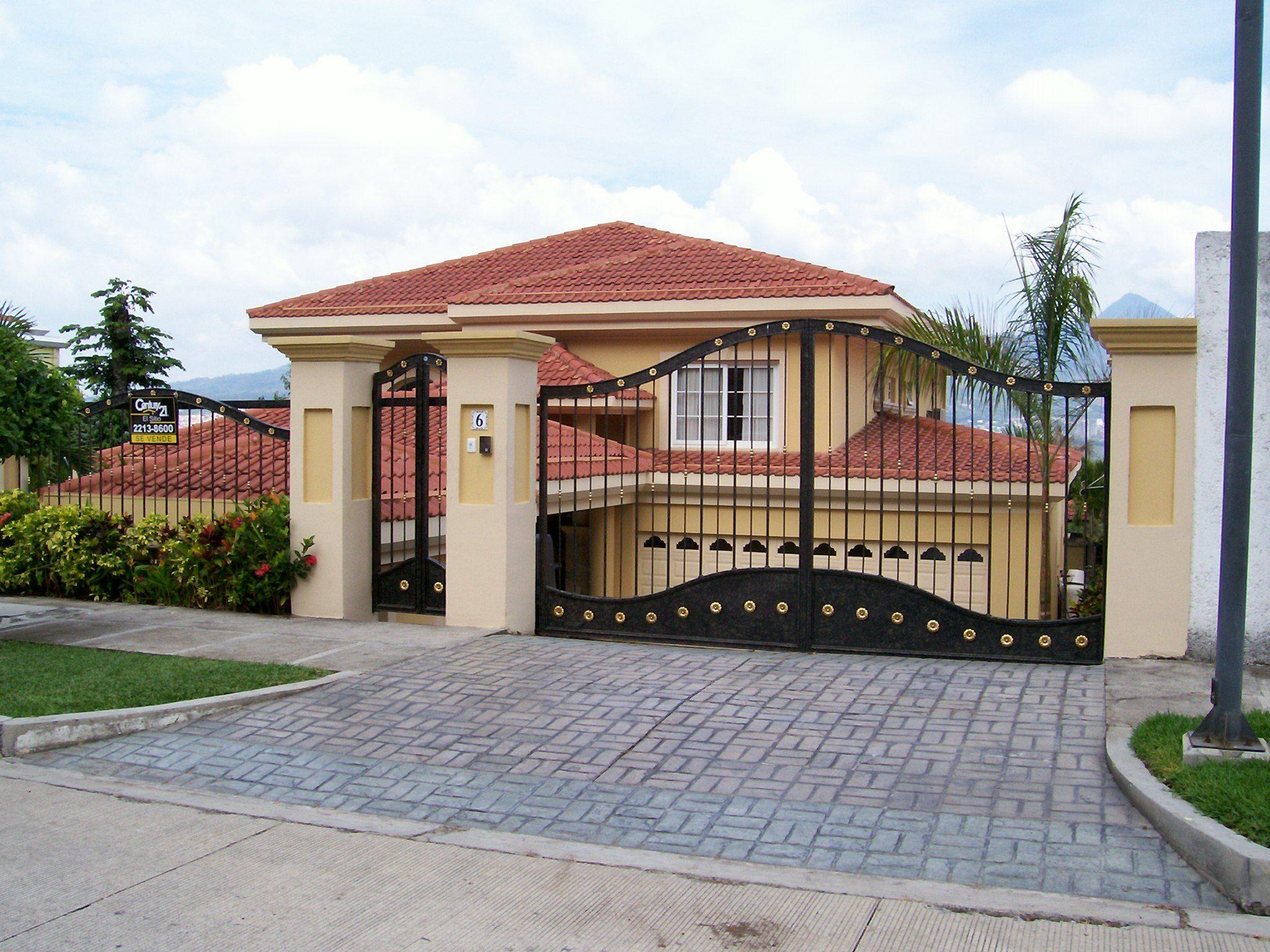 Puertas de metal para bardas buscar con google casas - Puertas de metal para casas ...
