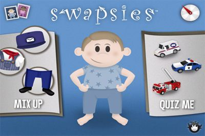 "Smattoos reviews Swapsies. ""Kids are not likely to grow bored with the app. Between the Mix Up section, the quizzes and the games, children can use the app for an extended amount of time."""