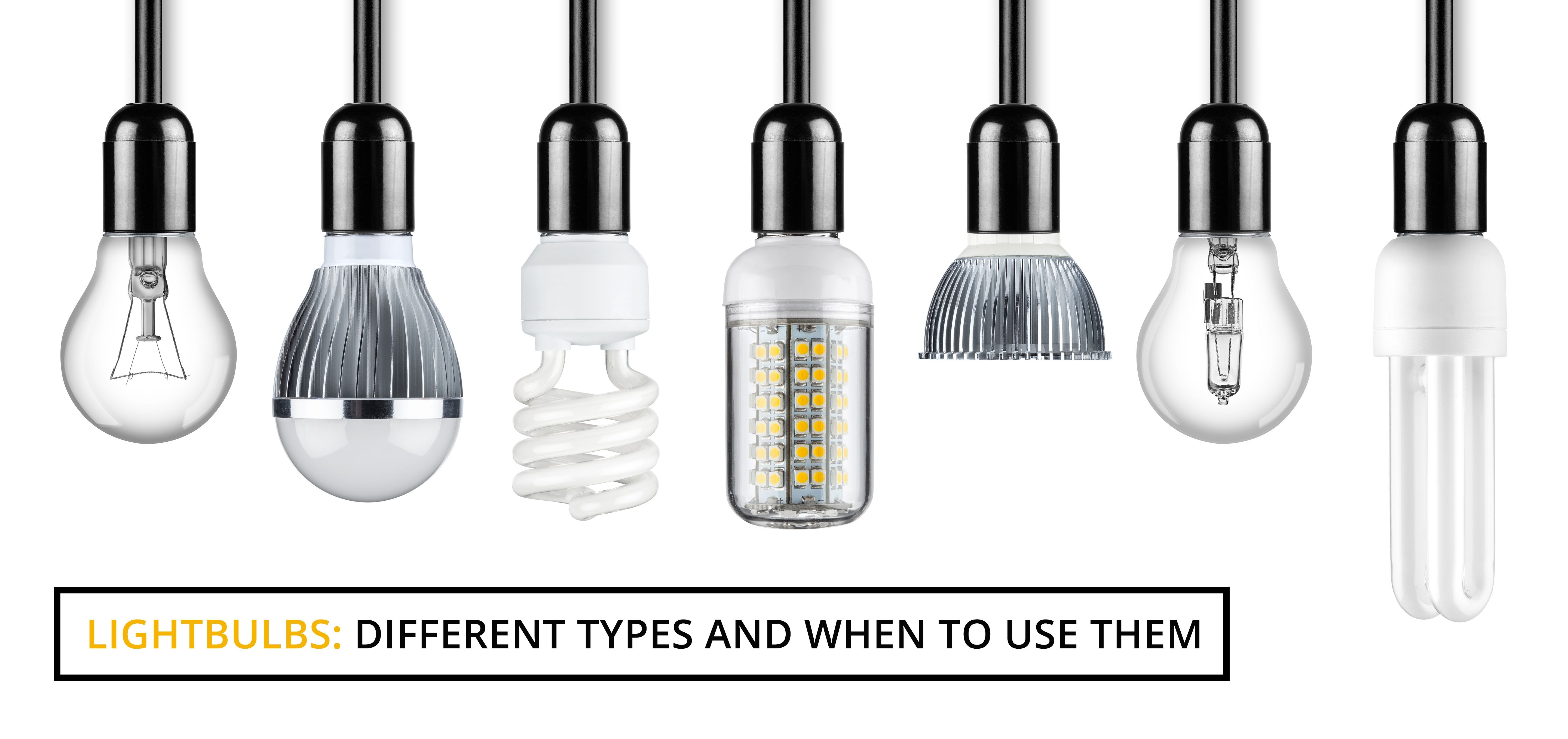 Types of light bulbs and their uses httpjohncow pinterest types of light bulbs and their uses arubaitofo Gallery