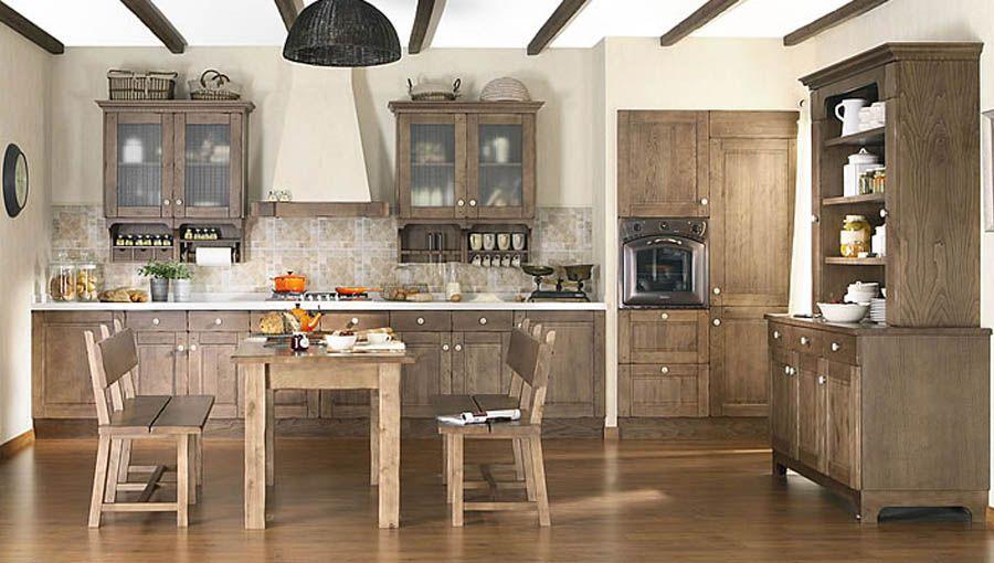 fotos-de-cocinas-modernas-rusticas1 | ideas para la casa | Pinterest ...