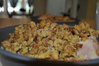 Chicken and Stuffing Bake for the Freezer! #freezercooking #freezermeals