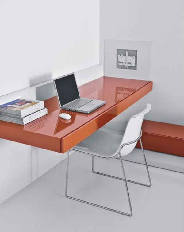 Designs uniques de bureau suspendu | Minimalist office, Minimalist ...