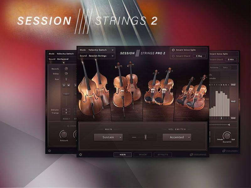 دانلود رایگان بانک کنتاکت Native Instruments Session Strings