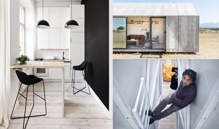 Big may be beautiful, but in a world of rapidly-shrinking space and resources, it often makes more sense to downsize. Gizmag doffs its cap to 10 recent architectural examples of utilizing space to its utmost potential.