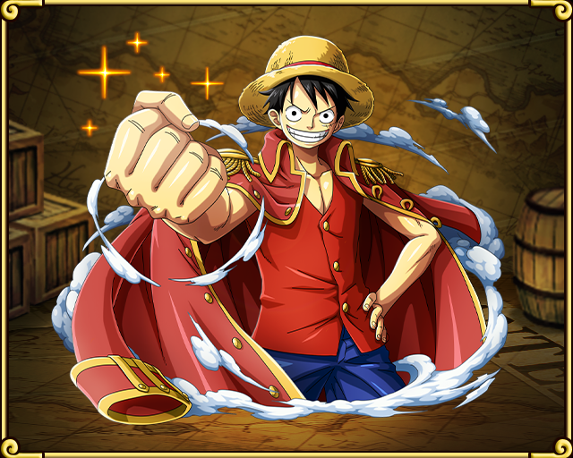 Monkey D Luffy Road To The Pirate King Ilustraciones