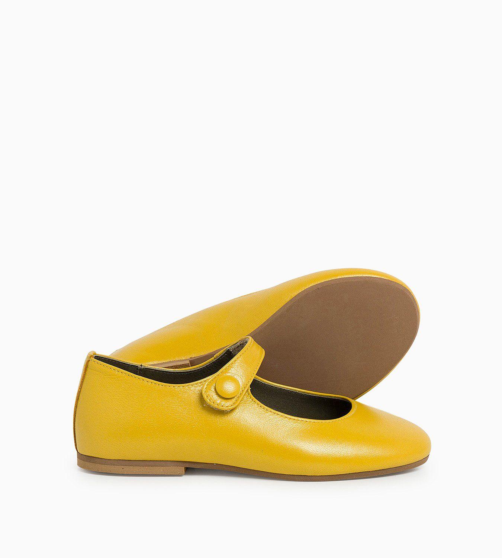a013c5228 Merceditas Sophie Amarillo Con estas merceditas para niña en amarillo de  Ganzitos.com