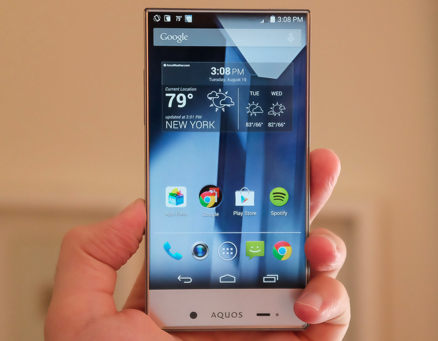 Sharp AQUOS Crystal hits the U.S. Smartphone Market