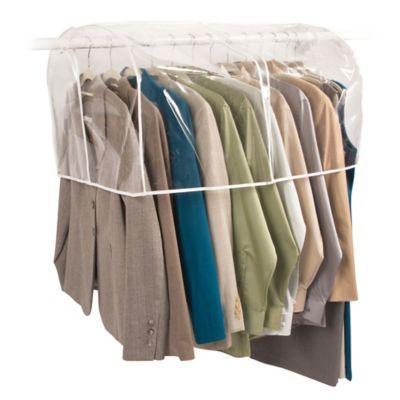 Gentil Closetware 36 Inch Clear Closet Rod Cover