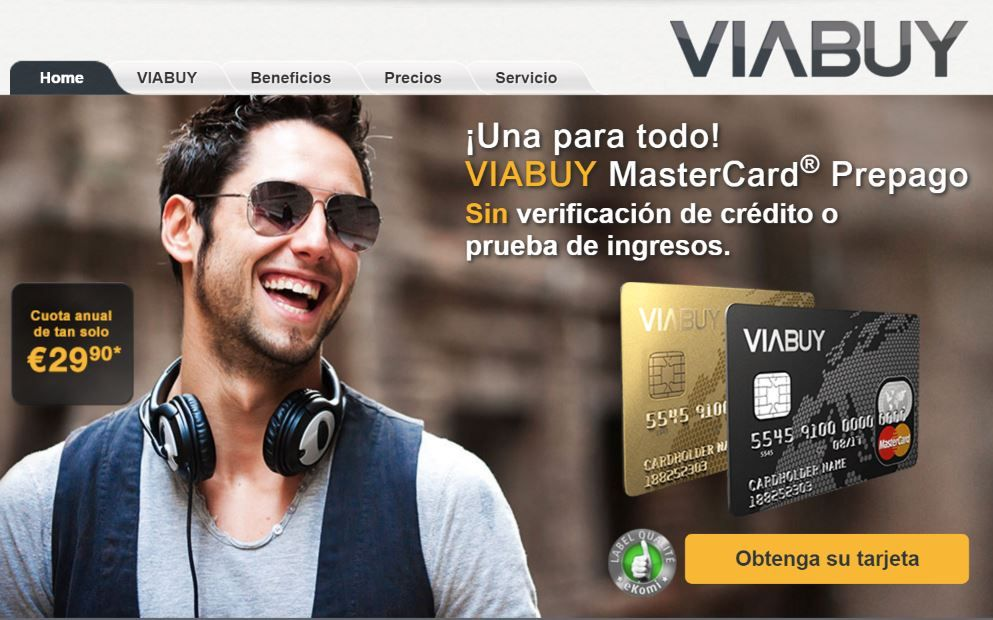 Viabuy Tarjeta De Crédito Sin Prueba De Ingresos Y Con Asnef Tarjeta De Credito Tarjeta El Credo