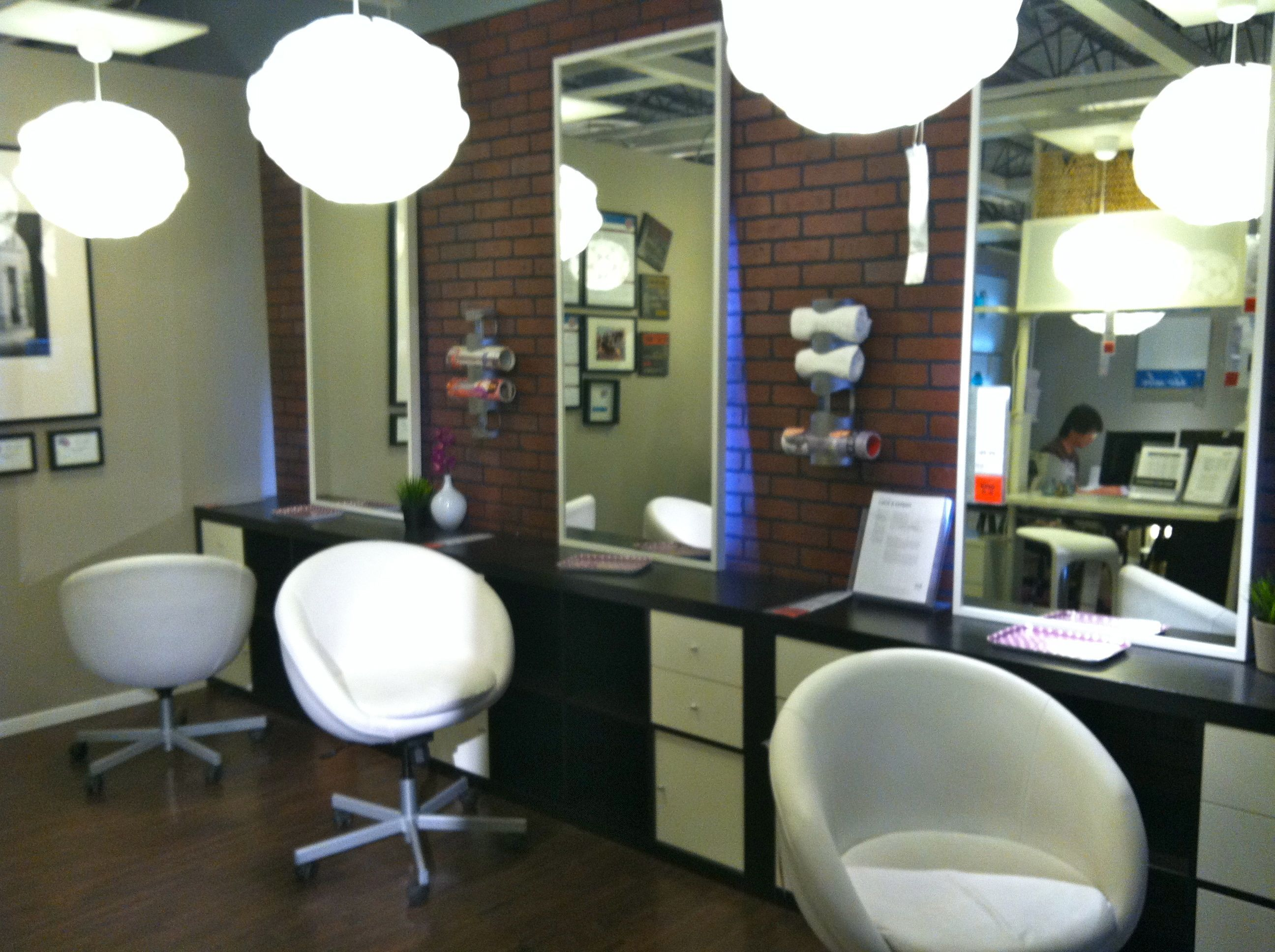 ikea hair salon ideas ikea salon furniture coats pinterest salon ideas. Black Bedroom Furniture Sets. Home Design Ideas