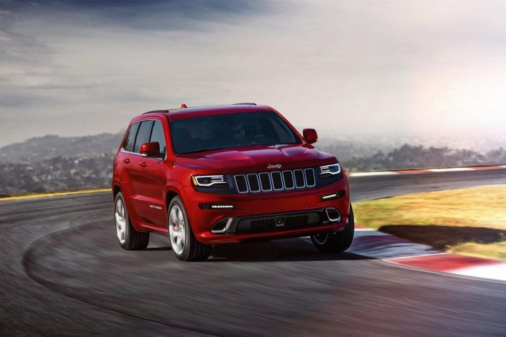 2018 Jeep Grand Cherokee Trackhawk Concept 2018 Jeep Grand