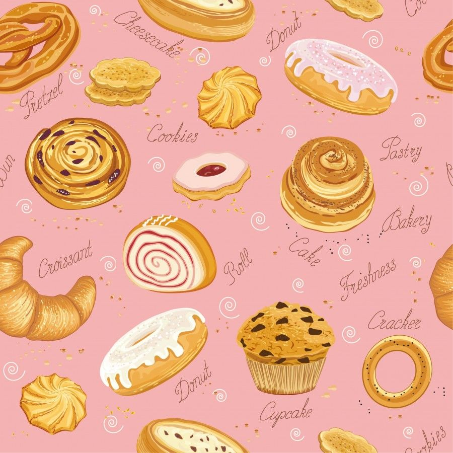 線上商店 草莓甜點專賣店 PrinLife Cupcake vector, Cookie vector