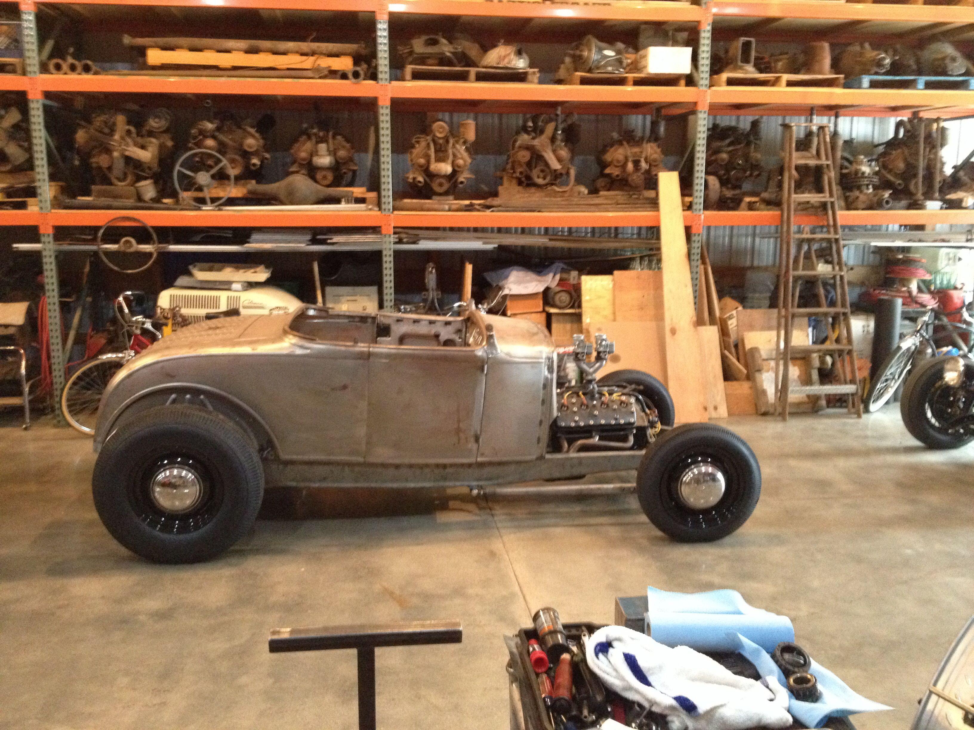 chad\'s Model A roadster flathead, halibrand quickchange, Lincoln ...