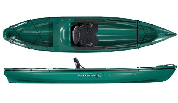 Wilderness Systems Commander Fishing Kayak Review