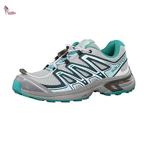 Salomon WingsPro Chaussures de Trail Femme, Violet/Blanc, 36 2/3