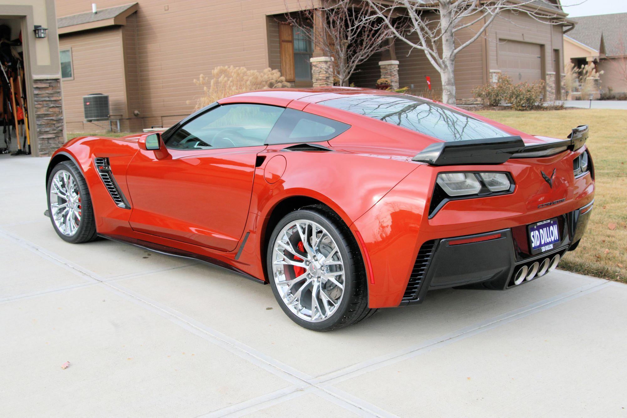 2015 Corvette Z06 Daytona Sunrise Orange Metallic Corvette Corvette Corvette Wheels Chevrolet Corvette Stingray