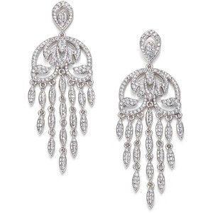 Adriana Orsini Pave Crystal Chandelier Earrings | My Style ...