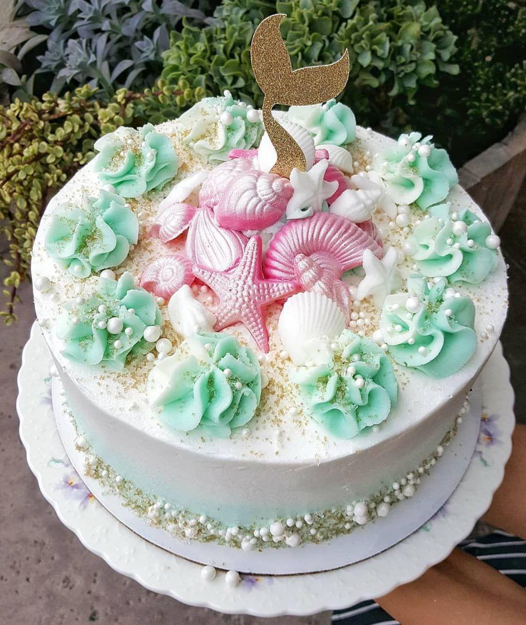 Cake by creme sugar sugar cake cake mermaid cakes