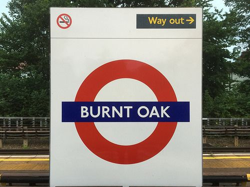 Image result for tree names on london underground stations
