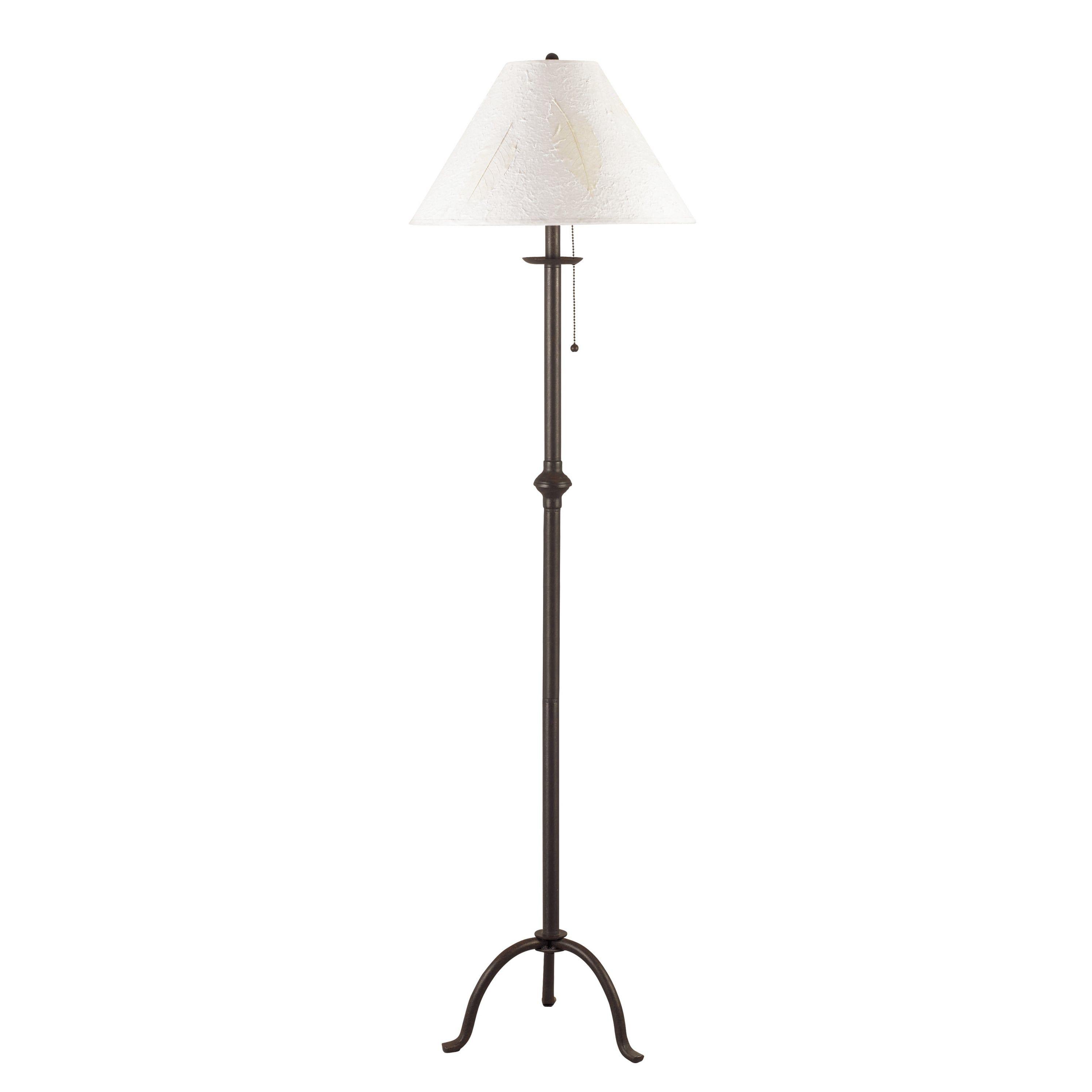 100 Watt Iron Floor Lamp With Pull Chain - Overstockcom Shopping
