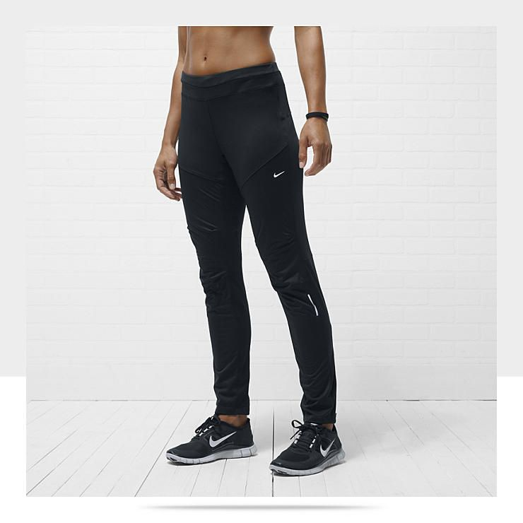 Nike Element Shield Women's Running Pants - not painted on, not baggy, just  right