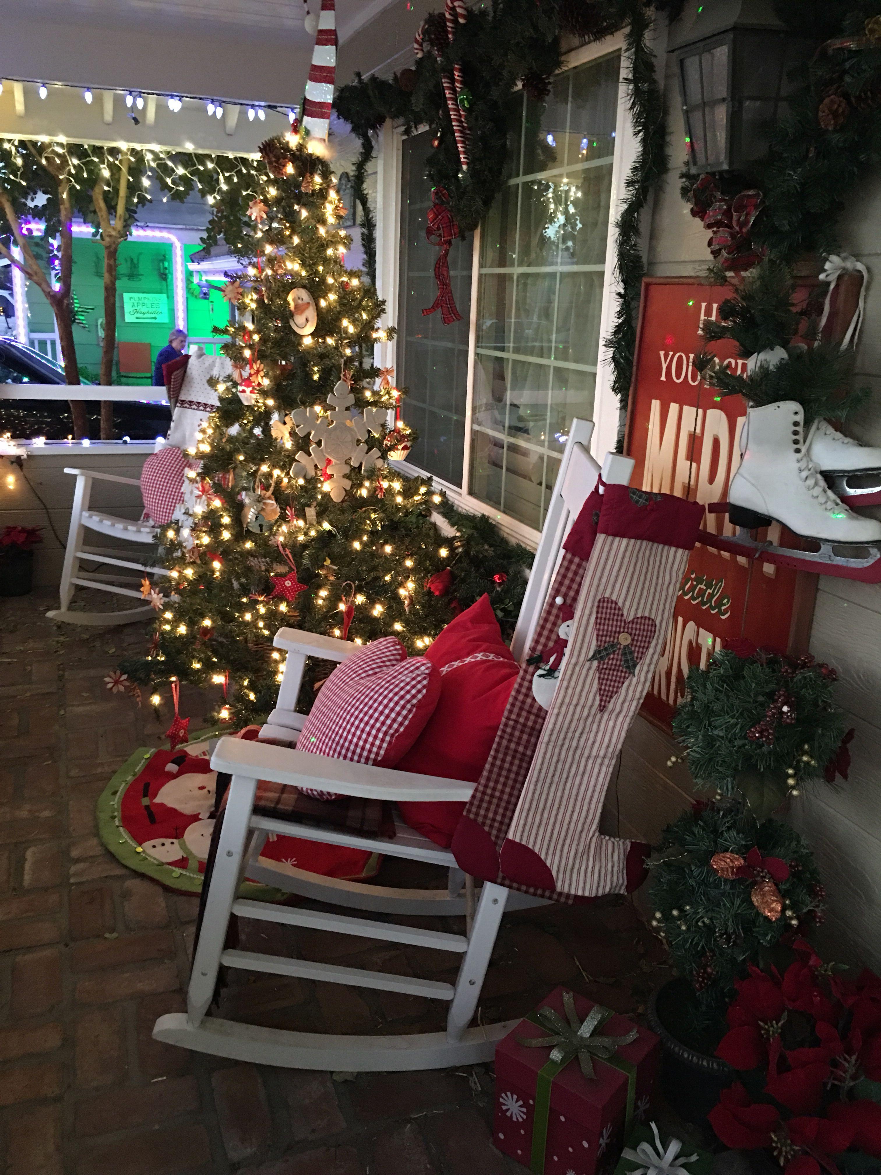 Christmas Porch Decorations Christmas Porch Decor Christmas Porch Holiday Decor