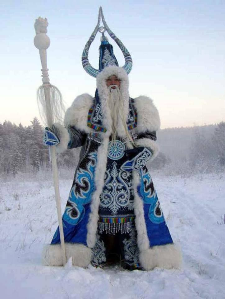 """Ded Moroz (""""Grandfather Frost""""), The Russian """"Santa"""""""