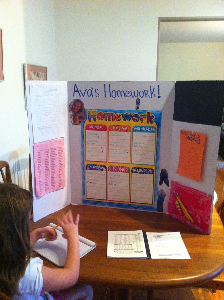 pictures of homework stations Portable homework station
